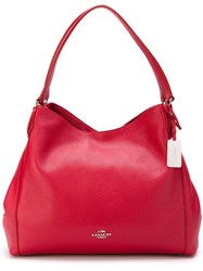 Coach Classic Shoulder Bag Red