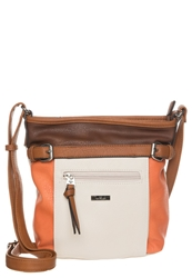 Tom Tailor Juna Across Body Bag Orange Cognac