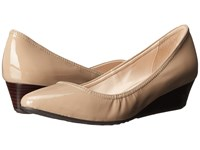 Cole Haan Tali Lace Wedge 40 Maple Sugar Patent Women's Wedge Shoes Neutral