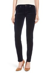 Kut From The Kloth Women's Diana Stretch Corduroy Skinny Pants New Navy