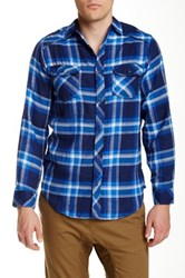Burnside Flannel Shirt Blue