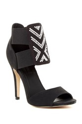 Michael Antonio Lowdie Peep Toe Heel Black