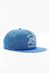 Deus Ex Machina Pegasus Snapback Hat Blue