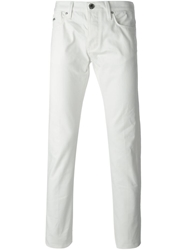 Emporio Armani Slim Fit Jeans White