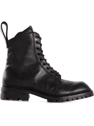Julius Side Zip Combat Boots