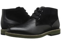 Armani Jeans Saffiano Leather Chukka Boot