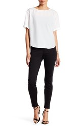 7 For All Mankind Skinny Ponte Pant Black