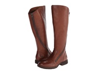 Born Laurette Cognac Tan Full Grain Leather Women's Boots Brown