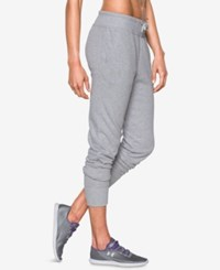 Under Armour French Terry Jogger Pants Air Force Grey Heather
