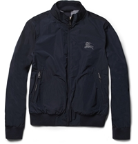 Burberry Showerproof Bomber Jacket Blue