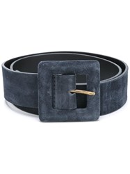 Orciani Large Buckle Belt Blue