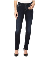 Jag Jeans Portia Straight Platinum Denim In Indio Indio Women's Blue