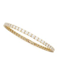 64Mm Yellow Gold Diamond Eternity Bangle 11.5Ct Roberto Coin Red