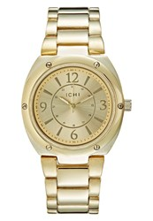 Ichi Tank Watch Goldcoloured