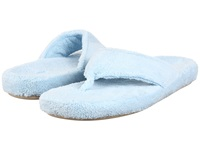 Acorn New Spa Thong Powder Blue Fabric Women's Slippers