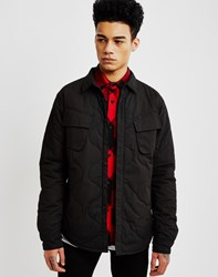 Huf Quilted Military Jacket Black