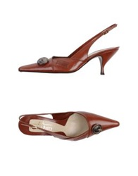 Michel Perry Pumps Brown