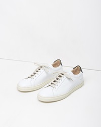 Common Projects Retro Achilles Low Sneaker White And Black