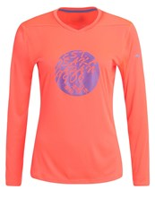 Mizuno Long Sleeved Top Fiery Coral
