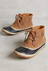 Anthropologie Sorel Out And About Low Duck Boots Brown