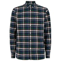 Penfield Barrhead Check Shirt Blue Blue