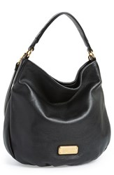 Marc By Marc Jacobs 'New Q Hillier' Hobo Black