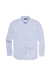 French Connection Colourful Oxford Shirt Blue