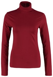 Zalando Essentials Long Sleeved Top Dark Red