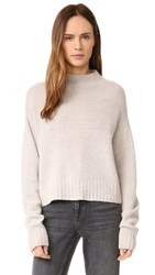 Alexander Wang Mock Neck Sweater Pumice