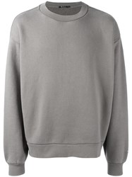 Alexander Wang T By Oversized Sweatshirt Grey