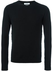 Valentino Crew Neck Jumper Black