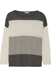 Joie Maine Knitted Sweater Gray