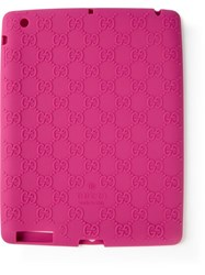 Gucci Monogram Tablet Case Pink And Purple