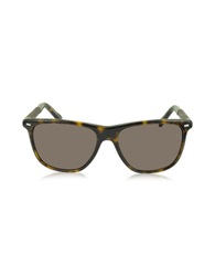 Ermenegildo Zegna Ez0009 52J Havana Acetate Men's Sunglasses Brown