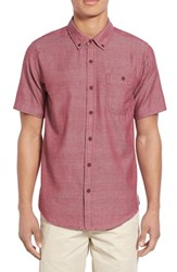 Men's Ezekiel 'Cabrillo' Heathered Woven Shirt
