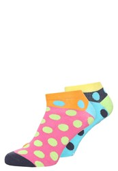 Unabux 2 Pack Socks Multicolor Turquoise