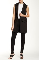 Romeo And Juliet Couture Sleeveless Blazer Black