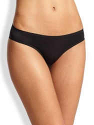Wolford Sheer Touch Tanga Black Rose