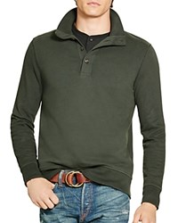 Polo Ralph Lauren Cotton French Terry Pullover Sq Green