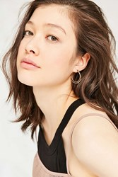 Urban Outfitters Statement Hoop Earring Set Gold