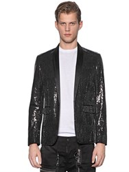 Dsquared Tokyo Sequined Silk Jacket