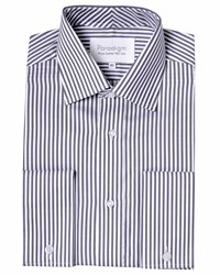 Double Two Paradigm Long Sleeve Stripe Shirt Grey