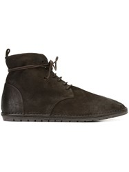 Marsell Marsa Ll Distressed Desert Boots Brown