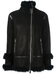 Drome Off Centre Zip Jacket Black