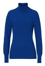 Betty Barclay Polo Neck Jumper Blue