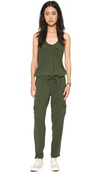 Joie Vernay Jumpsuit Military