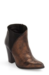 Charles David Women's 'Charla' Bootie Bronze Leather