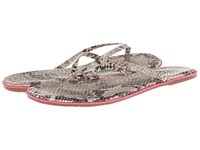 Tkees Lipliner Pink Venom Women's Sandals Animal Print
