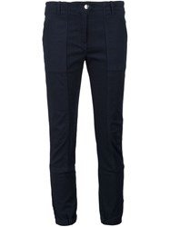 Veronica Beard Field Cargo Trousers Blue