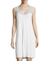 Hanro Ginevra Tank Nightgown Off White